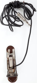 Musical Instruments:Acoustic Guitars, 1950s DeArmond RCH-B Tortoise Acoustic Guitar Soundhole Pickup....