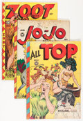 Golden Age (1938-1955):Miscellaneous, Fox Features Jungle Gals Group (Fox Features Syndicate, 1940s-50s) Condition: Average FR.... (Total: 8 Comic Books)