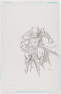 Original Comic Art:Sketches, David Finch Batman Specialty Sketch Original Art (2012)....