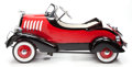 Other, LINCOLN ROADSTER PEDAL CAR. 20th century. 26 x 24 x 53 inches (66.0 x 61.0 x 134.6 cm). ...