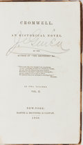 Books:Literature Pre-1900, Henry William Herbert. Cromwell. An Historical Novel. Vol.II. Harper & Brothers, 1838. First edition, first pri...