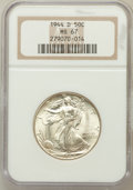 Walking Liberty Half Dollars: , 1944-D 50C MS67 NGC. NGC Census: (216/1). PCGS Population (206/0).Mintage: 9,769,000. Numismedia Wsl. Price for problem fr...