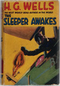 Books:Science Fiction & Fantasy, H. G. Wells. The Sleeper Awakes. Literary Press, [n. d.]. Reprint edition. Light rubbing to cloth. Pages toned w...