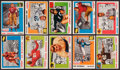 Football Cards:Sets, 1955 Topps All-American Football Partial Set (35/100). ...