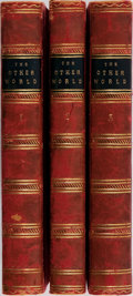 Books:Non-fiction, Frederick George Lee [editor]. Glimpses of the Supernatural. Vol. I-III. King, 1875-1878. Custom half leather wi... (Total: 3 Items)