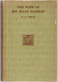 Books:Literature 1900-up, H. G. Wells. The Wife of Sir Isaac Harman. Macmillan, 1914.First edition, first printing. Light offsetting to endpa...