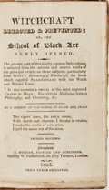 Books:Non-fiction, [Witchcraft]. Witchcraft Detected & Prevented. Buchan,1825. Second edition. Contemporary half leather with renewed ...