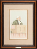 Fine Art - Work on Paper:Print, GROUP OF THREE VANITY FAIR PRINTS OF JUDGES BY SPY. Circa1880s-90s. Chromolithographs. 22 x 17 inches (55.9 x 43.2 cm)(lar... (Total: 3 Items)