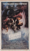 """Memorabilia:Science Fiction, """"Star Wars: The Empire Strikes Back"""" Real Movie Giant Pin-Up Poster(Topps, 1981) Condition: FN/VF...."""