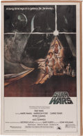 """Memorabilia:Science Fiction, """"Star Wars"""" Real Movie Giant Pin-Up Poster (Topps, 1981) Condition: VF...."""