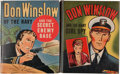 Big Little Book:Miscellaneous, Big Little Book #1418 and 1453 Don Winslow Group (Whitman, 1940s)Condition: Average VF/NM.... (Total: 2 Comic Books)