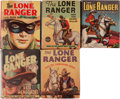 Big Little Book:Miscellaneous, Big Little Book Lone Ranger Group (Whitman, 1940s) Condition:Average FN/VF.... (Total: 5 Comic Books)