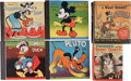 Big Little Book:Miscellaneous, Big Little Book Walt Disney Related Group (Whitman, 1930s-40s)....(Total: 6 Comic Books)