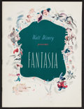 "Movie Posters:Animation, Fantasia (RKO, 1940). Program (Multiple Pages, 9.5"" X 12.5"").Animation.. ..."