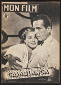 "Movie Posters:Academy Award Winners, Casablanca (Mon Film, 1947). French Magazine (16 Pages, 8"" X11.5""). Academy Award Winners.. ..."