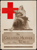 "Movie Posters:War, World War I Propaganda (The Atlantis Press, 1917). Poster (20.5"" X27.5""). ""The Greatest Mother in the World"" War.. ..."