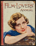 "Movie Posters:Miscellaneous, The Film-Lovers' Annual (Dean & Son Ltd., 1934). British Hard Bound Annual (126 Pages, 8.5' X 10.5""). Miscellaneous.. ..."