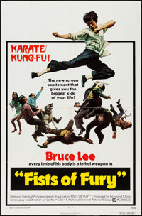 "Fists of Fury (National General, 1973). One Sheet (27"" X 41""). Action"