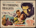 """Movie Posters:Romance, Wuthering Heights (Film Classics, R-1944). Half Sheet (22"""" X 28""""). Romance.. ..."""