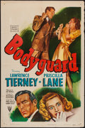 "Movie Posters:Crime, Bodyguard (RKO, 1948). One Sheet (27"" X 41""). Crime.. ..."