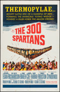 "Movie Posters:Action, The 300 Spartans (20th Century Fox, 1962). One Sheet (27"" X 41"").Action.. ..."