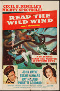 """Movie Posters:Adventure, Reap the Wild Wind and Other Lot (Paramount, R-1954). One Sheets(2) (27"""" X 41""""). Adventure.. ... (Total: 2 Items)"""
