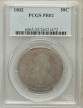 Early Half Dollars: , 1802 50C Fair 2 PCGS. PCGS Population (1/184). NGC Census: (0/826).Mintage: 29,890. Numismedia Wsl. Price for problem free...