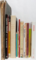 Books:Art & Architecture, [Art]. Douglas Gordon, Peter Fuchs, and Others. Group of 15 Books. Good or better condition....