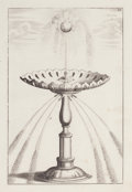 Decorative Prints, European:Prints, A SET OF EIGHT FRAMED COPPER ENGRAVINGS OF FOUNTAINS BY BOCKLER .Circa 1705. 11-1/2 x 8 inches (29.2 x 20.3 cm). Frame: 18-...(Total: 8 Items)