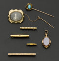 Estate Jewelry:Lots, A Lot Of Seven Various Items. ... (Total: 7 Items)