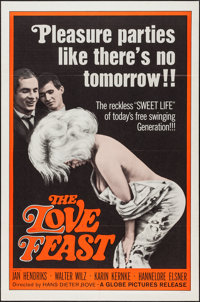"The Love Feast (Globe Pictures, 1961). One Sheet (27"" X 41""). Sexploitation"