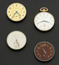 Timepieces:Pocket (post 1900), Waltham Complete 12 Size, Three 12 Size Movements. ... (Total: 4Items)