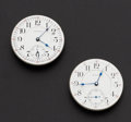 Timepieces:Other , Two Waltham 18 Size 21 Jewel Vanguard Movements. ... (Total: 2 Items)