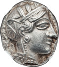 Ancients:Greek, Ancients: Athens. Ca. 454-414 BC. AR tetradrachm (24mm, 17.17 gm,9h)....