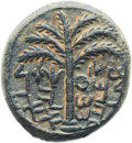 Ancients:Judaea, Ancients: Bar Kokhba Revolt (AD 132-135). Æ middle bronze(24mm, 14.57 gm, 6h)....