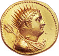 Ancients:Greek, Ancients: Ptolemy III Eurgetes (246-222 BC). AV mnaieion (28mm,27.80 gm, 6h). ...
