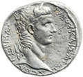 Ancients:Roman Provincial , Ancients: SYRIA. Antioch. Caligula (AD 37-41), with AgrippinaSenior. AR tetradrachm (26mm, 15.19 gm, 12h). ...