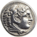 Ancients:Greek, Ancients: Alexander III the Great (336-323 BC).  ARtetradrachm (26mm, 17.28 gm, 2h)....