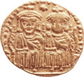 Ancients:Byzantine, Ancients: Leo IV, the Khazar (AD 775-780)., with Constantine VI. AVsolidus (21mm, 4.36 gm, 6h). ...