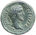Ancients:Roman Imperial, Ancients: Antoninus Pius (AD 138-161). AE medallic as (30mm, 13.53 gm, 6h). ...