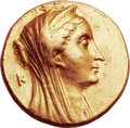 Ancients:Greek, Ancients: PTOLEMAIC EGYPT. Arsinöe II Philadelphus, wife of Ptolemy II (died 270 BC). AV mnaieion (27mm, 27.75 gm, 12h). ...