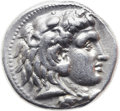 Ancients:Greek, Ancients: Alexander III the Great (336-323 BC). AR tetradrachm(27mm, 16.97 gm, 12h)....