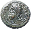 Ancients:Greek, Ancients: Syracuse. Time of Timoleon (344-317 BC). AE dilitron(27mm, 19.68 gm, 9h)....