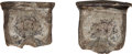 Ancients:Roman Imperial, Ancients: Valens (AD 364-378). PB (lead) Forger's Mold.... (Total: 2 items)