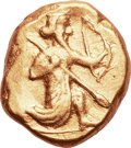 Ancients:Greek, Ancients: Achaemenid Empire. Time of Darius I - Xerxes II. Ca. 485-420 BC. AV daric (19mm, 8.33 gm).. ...