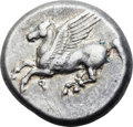 Ancients:Greek, Ancients: Corinth. Ca. 375-300 BC. AR stater (20mm, 8.56 gm,3h). ...