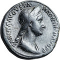 Ancients:Roman Imperial, Ancients: Sabina, wife of Hadrian (died AD 135/6). Orichalcumsestertius (32mm, 25.33 gm, 6h). ...