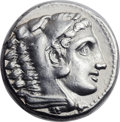 Ancients:Greek, Ancients: Alexander III the Great (336-323 BC).  ARtetradrachm, (25mm, 17.22 gm, 8h)....