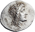 Ancients:Greek, Ancients: ROMAN MACEDON. Aesillas (quaestor, ca. 95-70 BC). ARtetradrachm (33mm, 16.99 gm, 12h). ...