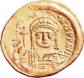 Ancients:Byzantine, Ancients: Justinian I the Great (AD 527-565). AV solidus (21mm,4.47 gm, 6h)....